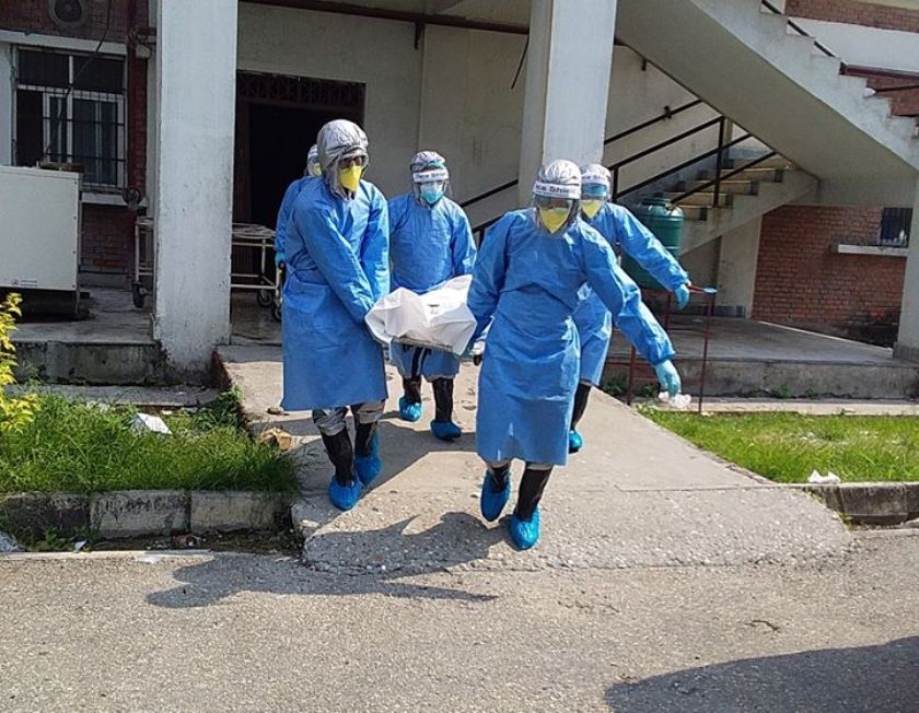 बुटवलको भीम अस्पतालमा एक काेराेना संक्रमित पुरुषको मृत्यु