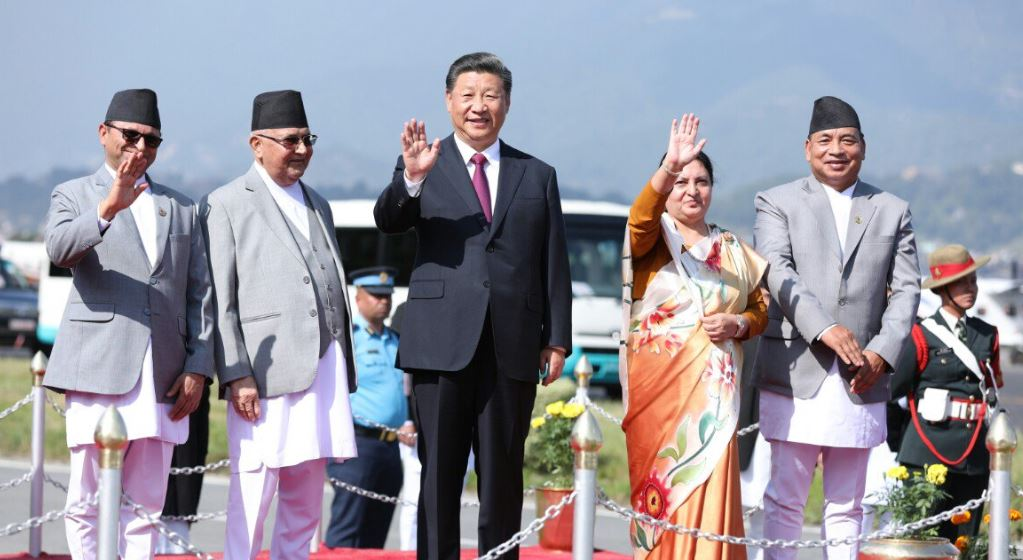 नेपाल चीन सम्बन्ध स्थापनाको ६५ औँ वर्ष, राष्ट्रपति प्रधानमन्त्री सन्देश