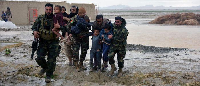 बाढीका कारण अफगानिस्तानमा सोह्रको मृत्यु
