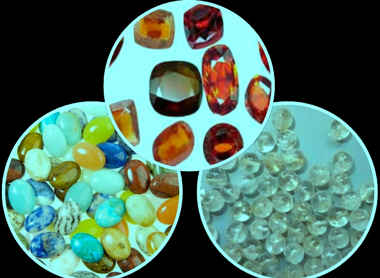 विभिन्न बहुमुल्य धातु जस्तो देखिने पत्थर सहित पक्राउ