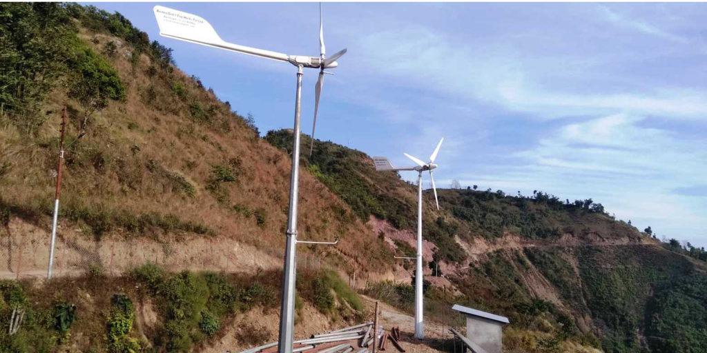 हावाबाट बिजुली उत्पादनः गाउँ झिलिमिली