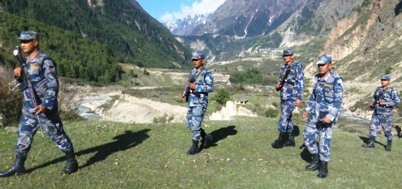 नेपाल–चीन सीमाको १ नम्बर पिलरसम्म सशस्त्रको गस्ती