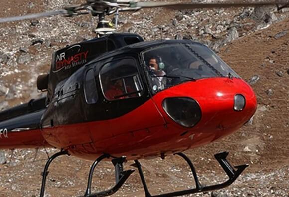 गर्भभित्रै बच्चा मरेर सिकिस्त विरामी भएकी महिलालाई हेलिकोप्टरबाट उद्धार