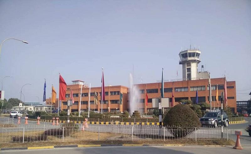 अन्तर्राष्ट्रिय विमानस्थलमा सुरक्षा आवास गृह निर्माण
