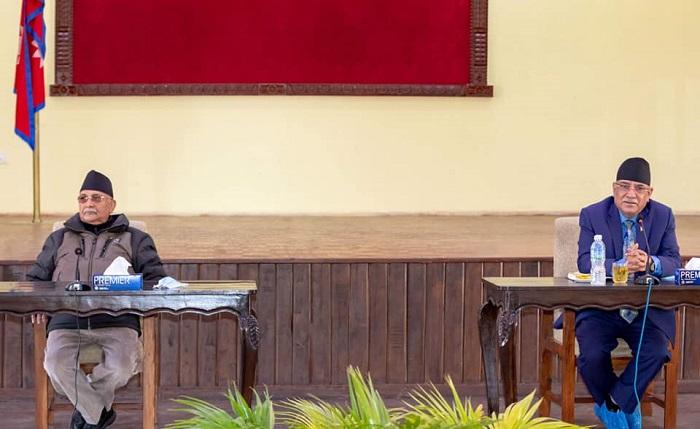 नेकपा बैठक बालुवाटारमा  सुरु