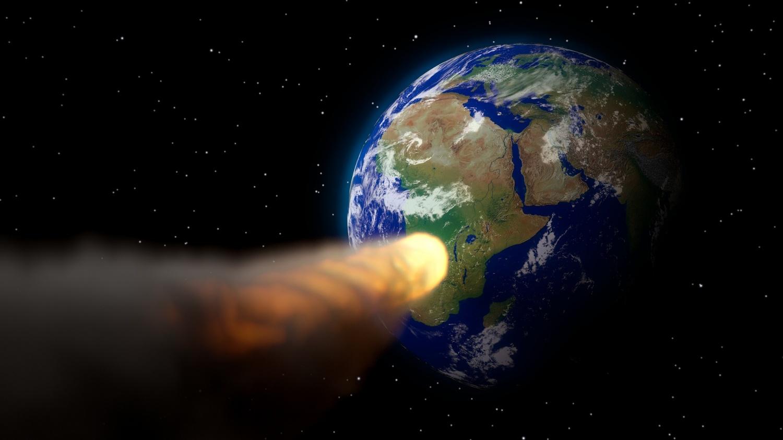 अन्तरिक्षबाट पृथ्वीतर्फ तीव्र गतिमा एक छुद्र ग्रह आउँदै
