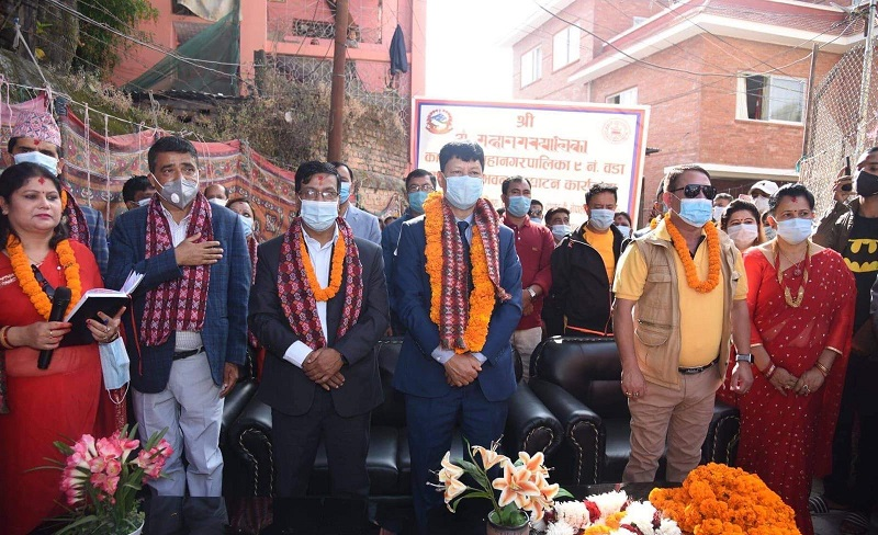 काठमाडौँ महानगरका सबै वडा कार्यालय सुविधा सम्पन्न: मेयर शाक्य