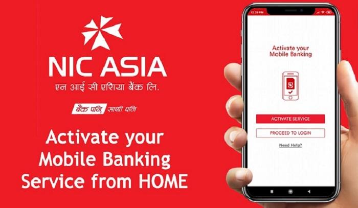 एनआईसी एशियाको मोबाइल बैंकिङ्गको प्रत्येक कारोबारबाट रु १ कोरोना प्रभावितलाई
