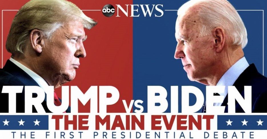ट्रम्प र बिडेनबिच आज राष्ट्रपति पदका लागि पहिलो आधिकारिक बहस हुँदै