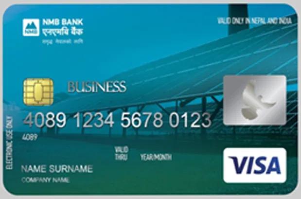 वित्तीय क्षेत्रमै कर्पोरेट क्रेडिट कार्ड जारी गर्नेमा एनएमबी बैंक पहिलो