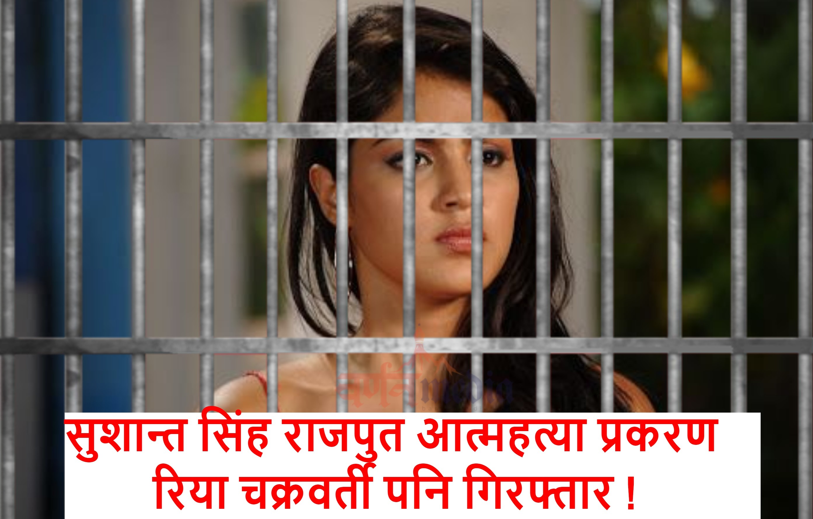 सुशान्त सिंह राजपुत आत्महत्या प्रकरण: रिया चक्रवर्ती  हिरासतमा