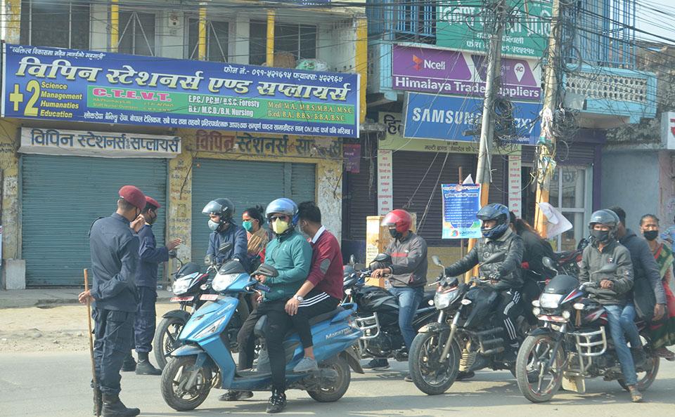 काठमाडौं उपत्यका भित्र ९ सय सवारीसाधनलाई कारबाही