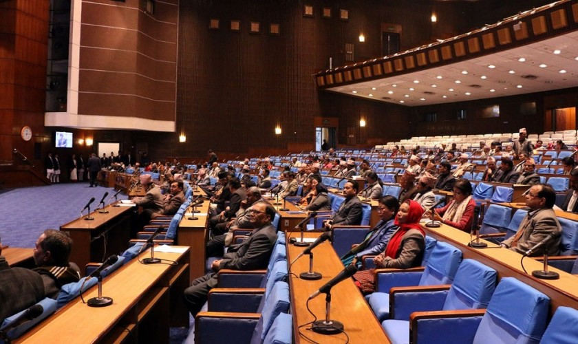 संसद बैठक आज बस्दै , चार मन्त्री निलम्बनको पत्र प्रस्तुत नहुने !