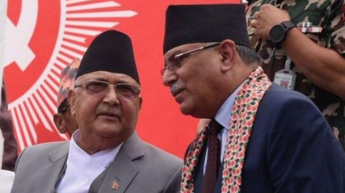 प्रचन्ड र माधव नेपालका कारण नेकपा पार्टी विघटन भएको ठहर, अवको मुलुमा चुनावको विकल्प छैन