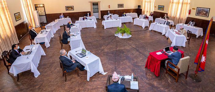 संसदको हिउँदे अधिवेशन अन्त्य गर्न राष्ट्रपतिसमक्ष सिफारिस