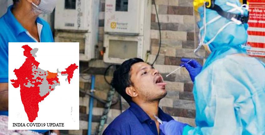 भारतमा थप ४२ हजार ६२५ कोरोना सङ्क्रमित