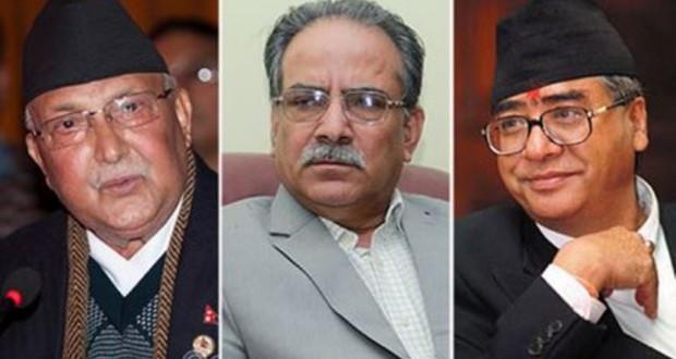 एजेण्डाको राजनीतिमा ओली नै अगाडि, आउँदो चुनावमा प्रचण्ड, देउवा र नेपाल एकसाथ पछारिने