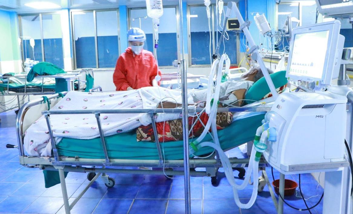 कोभिडका बिरामीले भरिन थाल्यो अस्पताल
