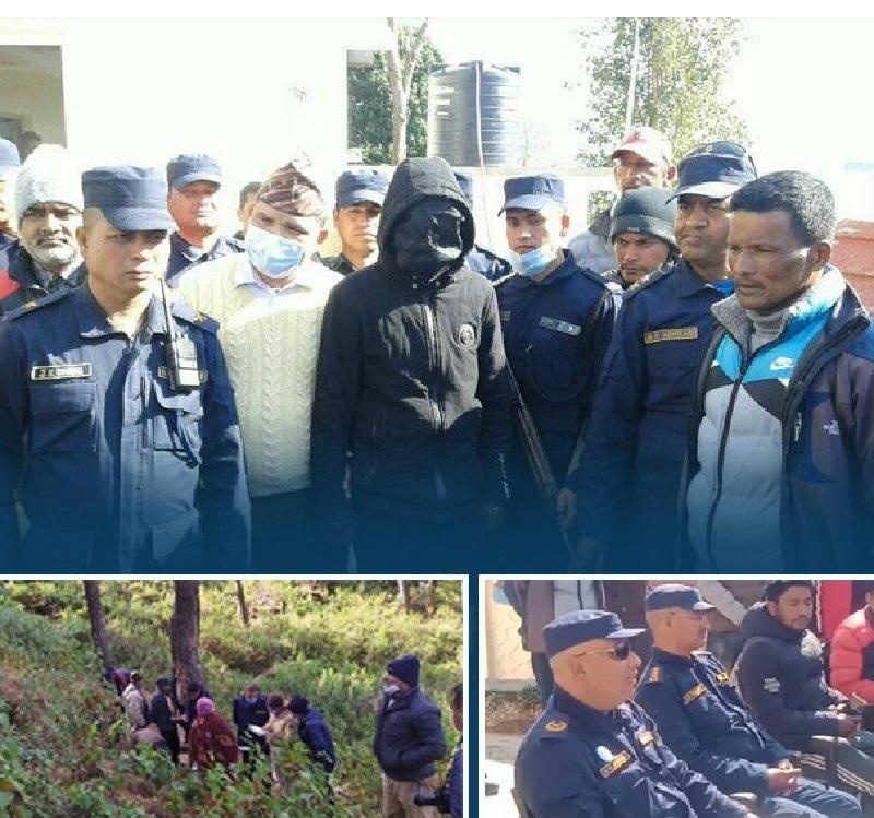 १७ वर्षीया भागरथीको हत्यामा दिनेशको फरक फरक बयानले नेपाल प्रहरी अनुुसन्धानमा सफल