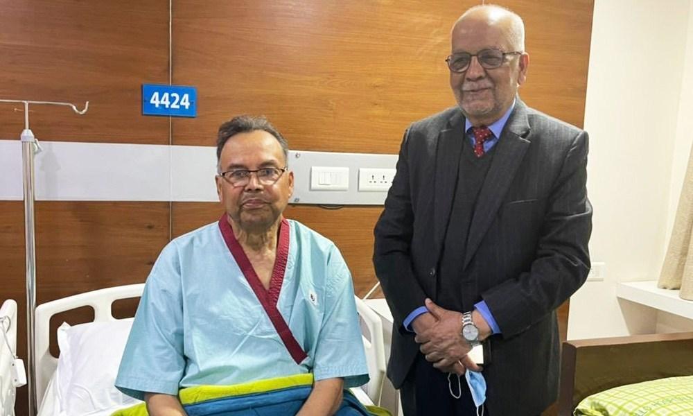 एक साता लामो उपचारपछि पूर्वप्रधानमन्त्री खनाल आज स्वदेश फर्कदै