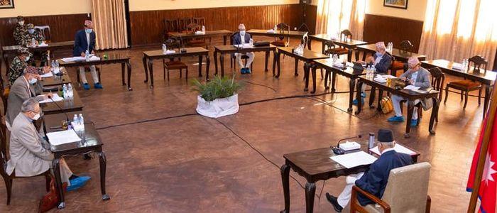 सुरक्षा परिषद् बैठक नियमित कि रणनीतिक !