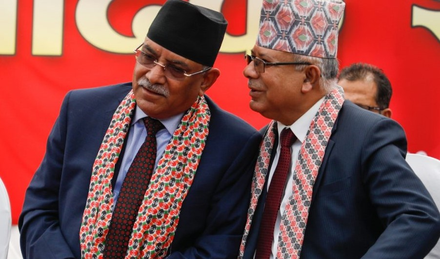 नेकपा प्रचण्ड–माधव समूह केन्द्रीय सदस्य सहित निर्वाचन अयोग जादै