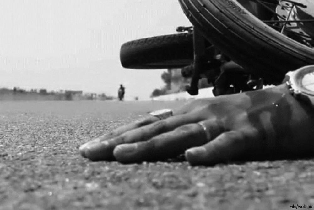 मोटरसाइकल दुर्घटनामा एकको मृत्यु