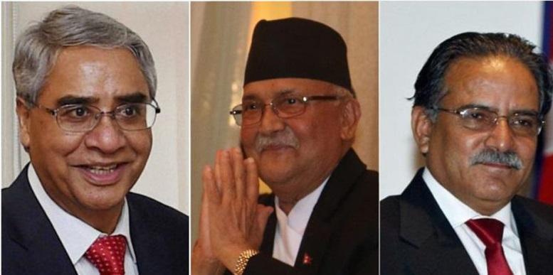 कांग्रेसलाई ओली, दाहाल–नेपाल समूहका पदका पोका, कुन लिने कुन छाड्ने ? नेताहरू आ–आफ्नै दाउमा