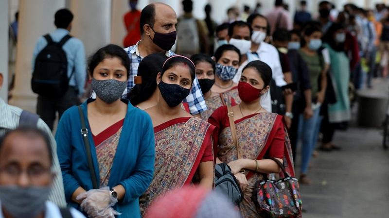 भारतमा कोरोना भाइरस सङ्क्रमितको सङ्ख्या करिब एक करोड पाँच लाख