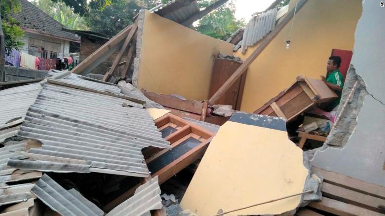 इन्डोनेसियामा भूकम्प : ३४ जनाकाे मृत्यु