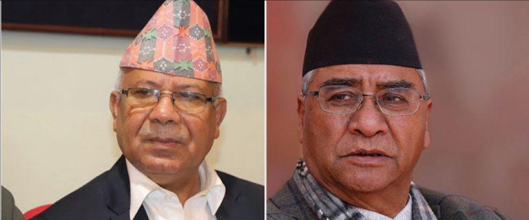 प्रधानमन्त्री देउवालाई माधव नेपाल निल्नु न ओकल्नु, न सरकारमा जाने न विपक्षमा बस्ने