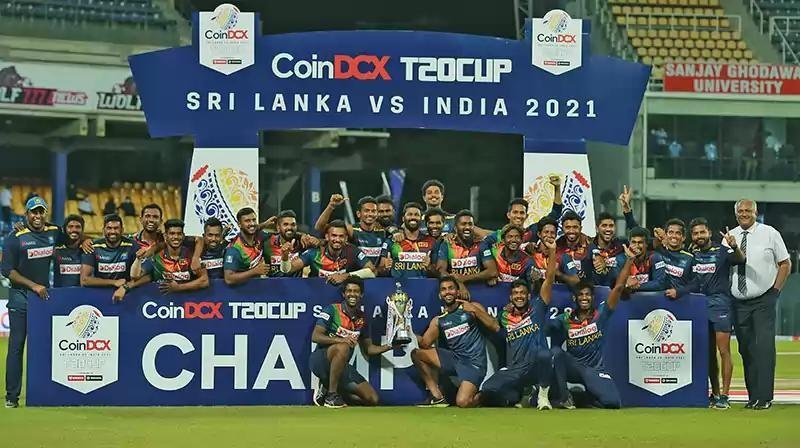 भारतविरुद्धको टी-२० सिरिज श्रीलंकाले जित्यो