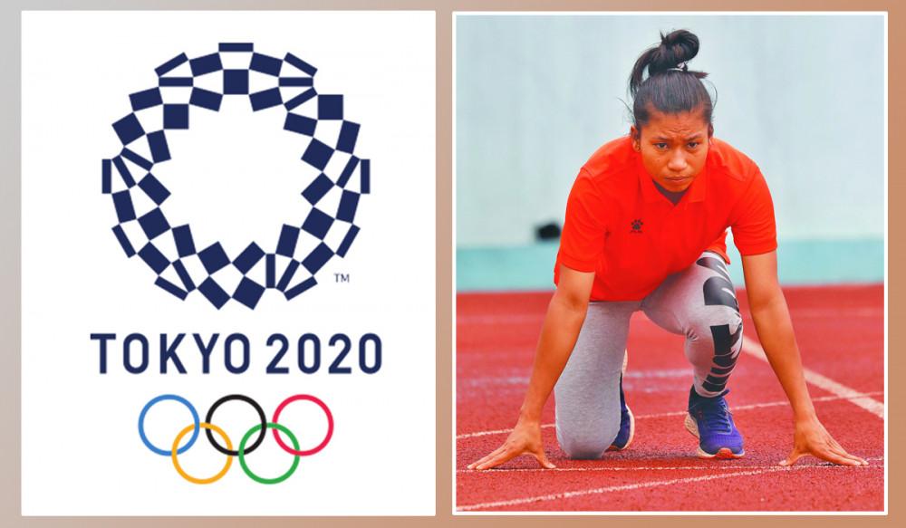 टोकियो ओलम्पिकमा आज एथलेटिक्स खेलाडी सरस्वती चौधरीले प्रतिस्पर्धा गर्दै