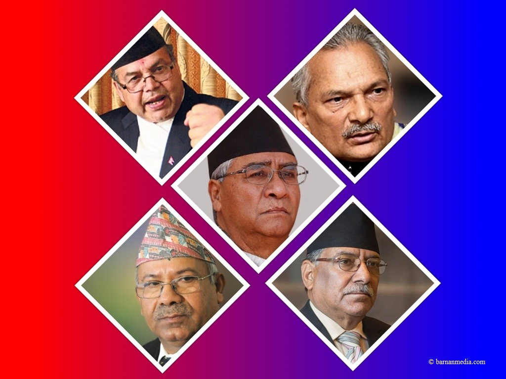 प्रधानमन्त्री ओलीविरुद्ध पाँच पूर्वप्रधानमन्त्री एकजुट, सरकारलाई सहयोग नगर्न राज्यका सबै निकायलाई आह्वान