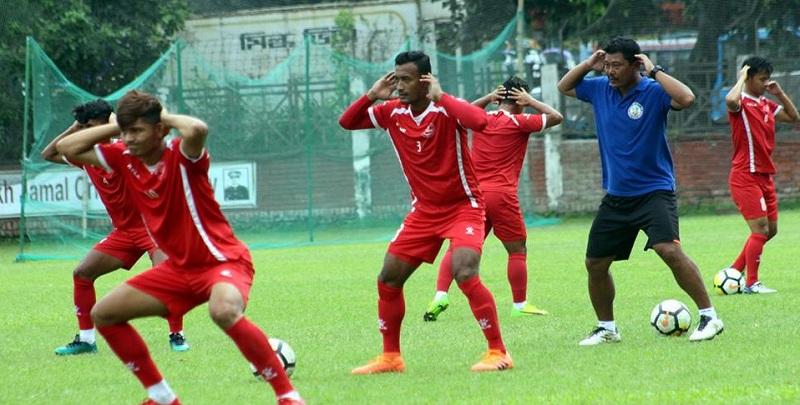 किरण लिम्बूको कप्तानीमा नेपाली राष्ट्रिय टोलीको घोषणा