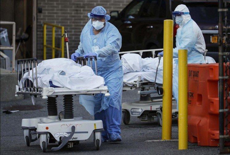 विश्वमा हालसम्म कोरोनाबाट २५ लाख ३८ हजारभन्दा बढीको मृत्यु, अमेरिका शीर्ष स्थानमा
