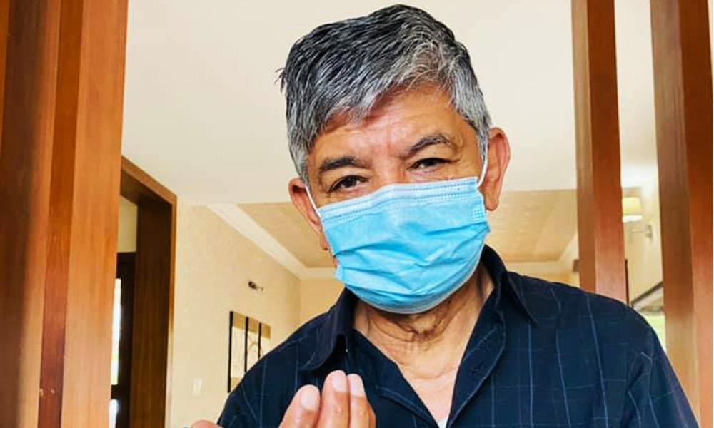अक्सिजन लेभल घटेपछि कोरोना संक्रमित मदनकृष्ण पुनः अस्पताल भर्ना