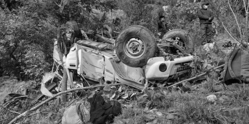 बैतडीमा जीप दुर्घटना, एउटै वडाका ४ जनाको मृत्यु