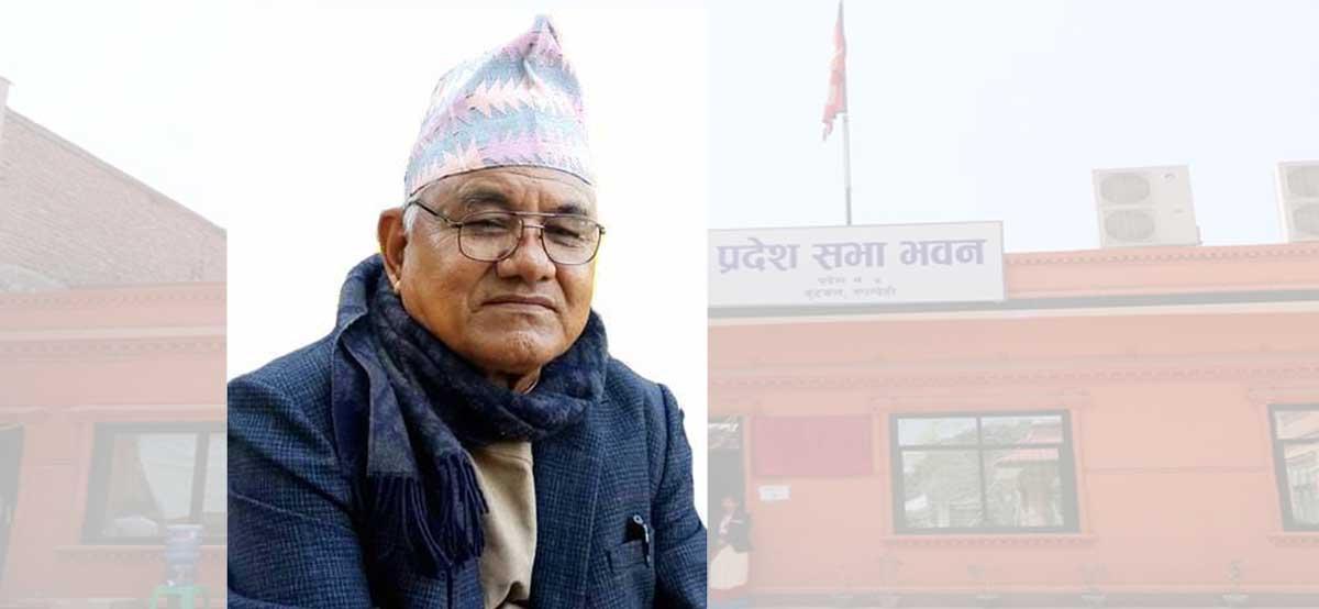 नेकपा एमालेका लुम्बिनी प्रदेशसभा सदस्य अमरबहादुर डाँगीले दिए राजीनामा