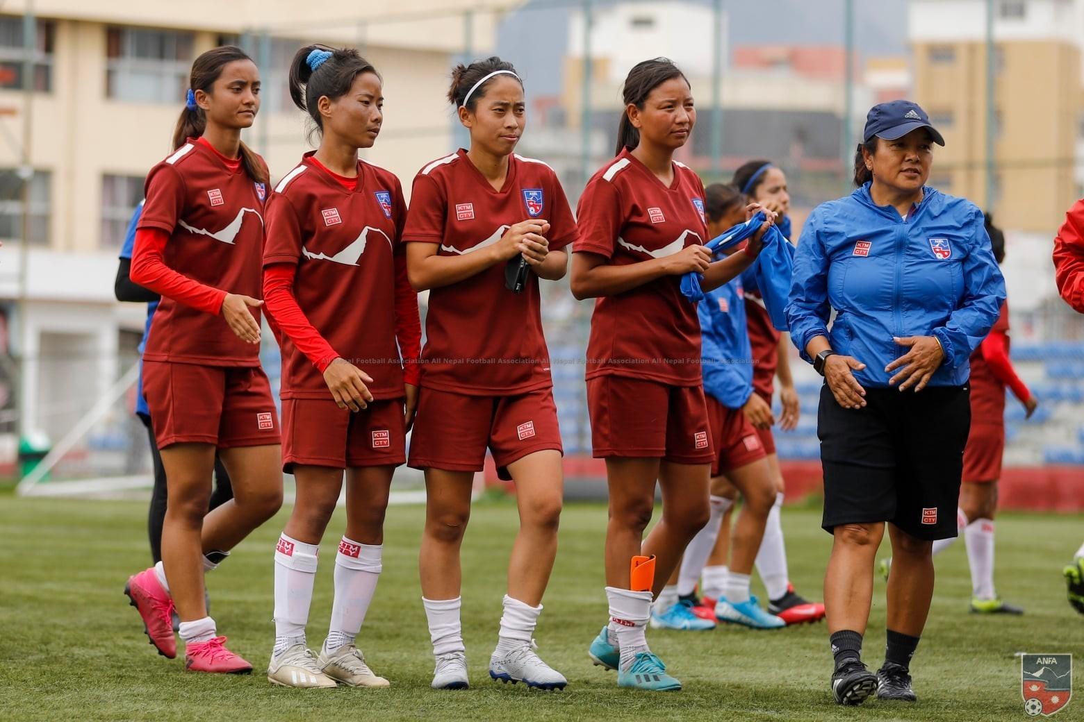 नेपाल र बंगलादेशबीचको अन्तर्राष्ट्रिय मैत्रीपूर्ण दोस्रो महिला खेल आज हुदै