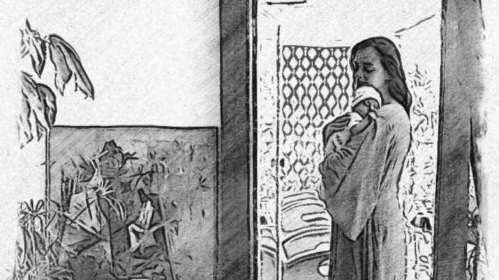 बलिउडकी हिराेइन दीया मिर्जाले सेयर गरिन् आफ्नो छोरा अव्यानसँगको फोटो