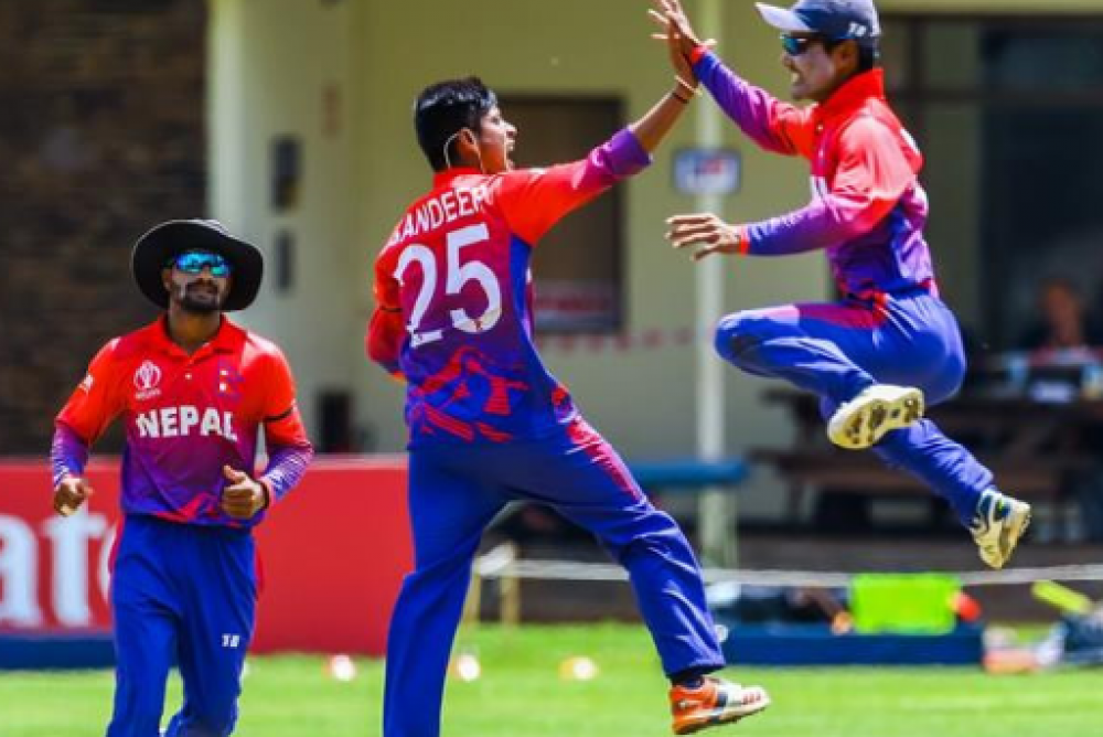 विश्वकप क्रिकेट लिग–२ :  नेपालद्वारा अमेरिका पाँच विकेटले पराजित